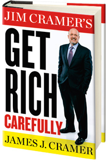 Jim Cramer's Get Rich Carefully bookshot